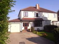 3 bed semi detached property in Grange Avenue...