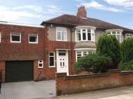 4 bedroom semi detached property for sale in Milbank Road, Darlington
