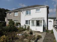 3 bed semi detached home for sale in Is-y-rhos, Caerbont...