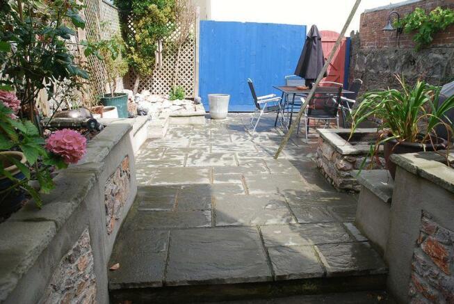 Rear Courtyard...