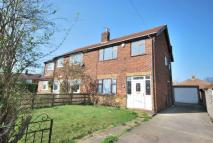 3 bed semi detached property in Chandos Gardens...