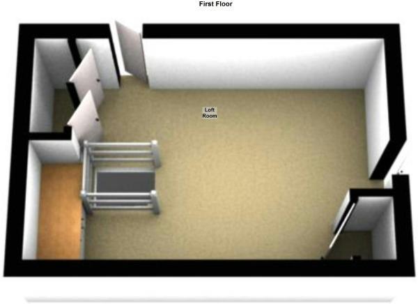 Floor Plan (Loft Space