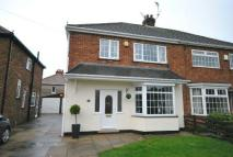 3 bed semi detached house in Hawkins Grove, Old Clee...