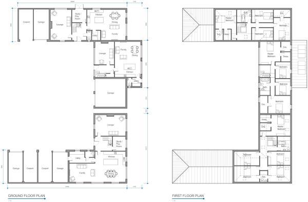 Proposed Floor Plans Block 2