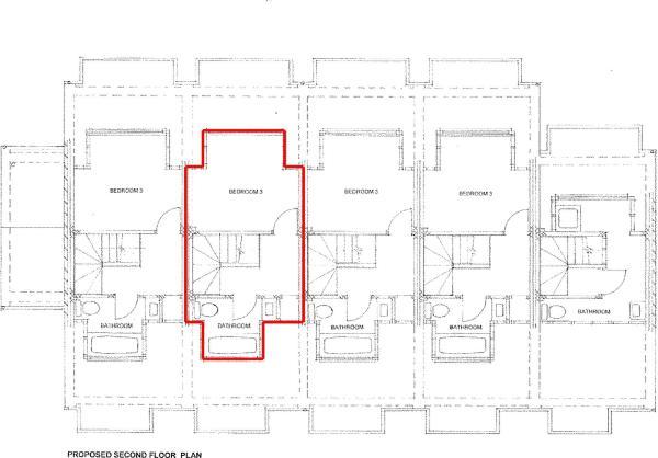 Second Floor - Floor Plan