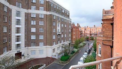 View from top flats