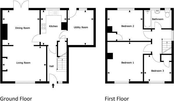Existing house...