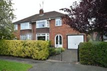 3 bed semi detached home in Greenbank Road, Hoole...