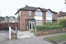 semi detached property in Sefton Road, Hoole...