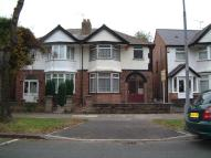 3 bedroom semi detached home in SHIRLEY ROAD, Birmingham...