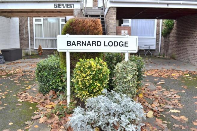 Barnard Lodge Sign