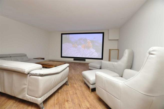 Home cinema area