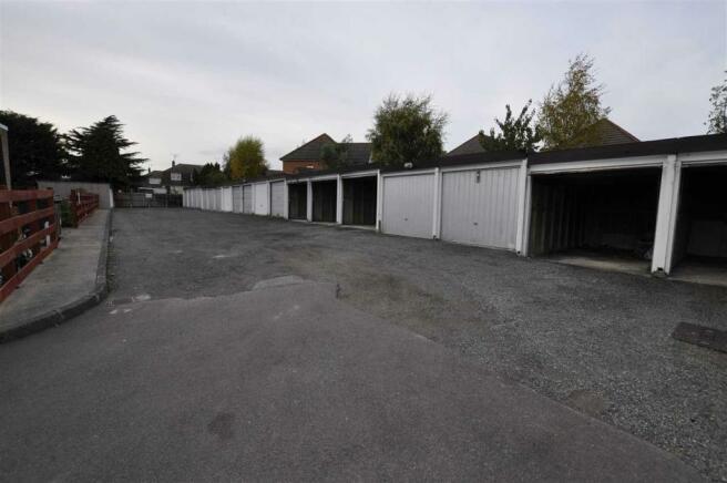 Garage block view
