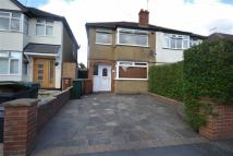 3 bed semi detached property in Winchester Way...
