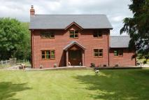 Detached home for sale in Penybont, LD1