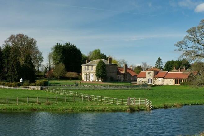 house and lake