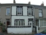 Terraced house in Baglan Street...