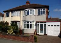 3 bedroom semi detached property to rent in Burland Avenue...