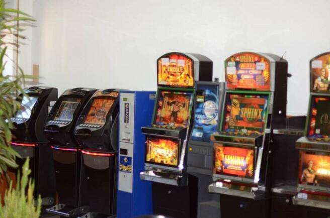 Slot machines room