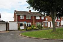 3 bedroom semi detached property for sale in Hobill Close...