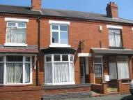 2 bed Terraced home in Swinnerton Street, Crewe...