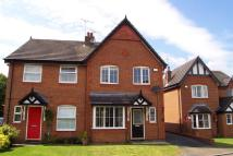 semi detached house in Lime Grove, Shavington...