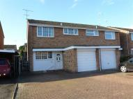 semi detached house in Brunel Close, Whitnash...
