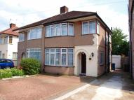 3 bed semi detached house in Elgin Avenue, Kenton...