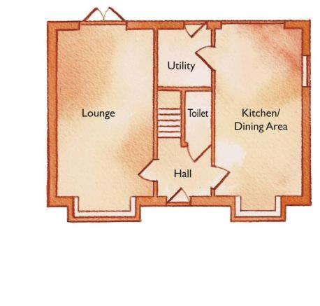 Plot 5 ground floor.