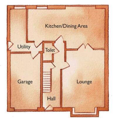 Plot 4 ground floor.