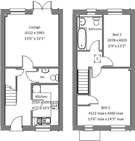 Kilby Type B layout.