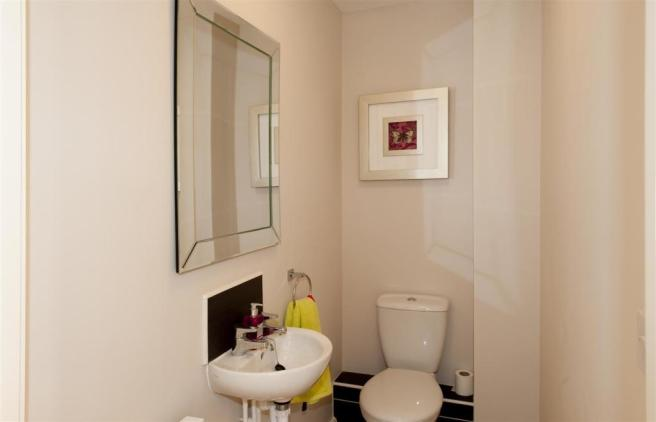 Typical Cloakroom