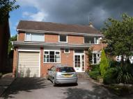 Detached home for sale in Suffolk Close, Congleton...