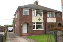 3 bedroom semi detached property in Folly Lane, Cheddleton...