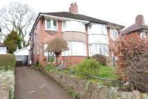 3 bedroom semi detached home for sale in Newcastle Road, Leek...