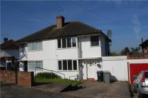 semi detached home to rent in Beverley Gardens...