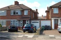 3 bedroom semi detached house to rent in Sherborne Gardens...