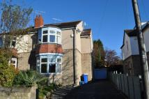 semi detached property to rent in 52 Furniss Avenue, Dore...