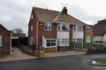 semi detached home to rent in Barncliffe Crescent...