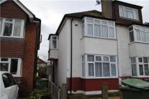 2 bed semi detached property in St Albans Road, Cheam...