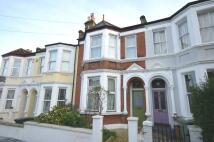 Terraced house in Abernethy Road London...