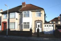 semi detached home for sale in Warbreck Avenue...