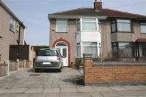 3 bed semi detached home in Wensley Road, Orrell Park