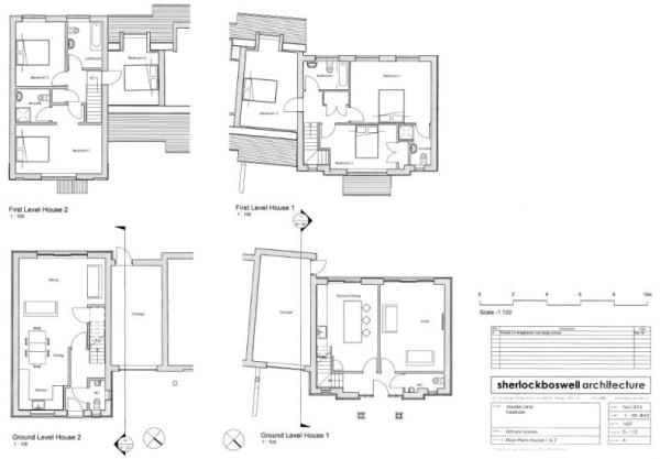 Houses 1 and 2