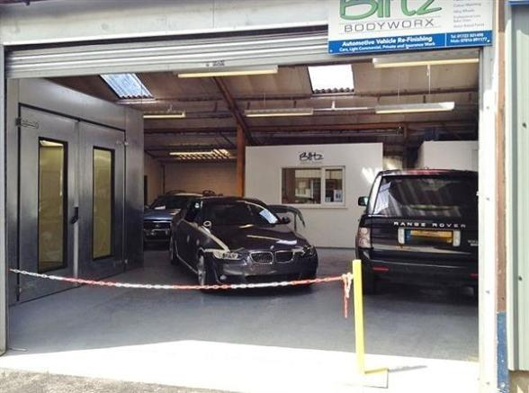 Garage For Sale In Auto Body Shop Business For Sale