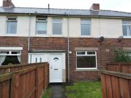 Terraced house in Pine Avenue, Burnopfield...
