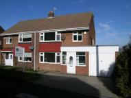 semi detached property in Orchard Road, Whickham...