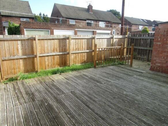 Rear Garden with Decking