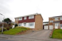semi detached property in Hunters Way, Royston