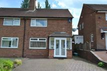 semi detached property in Ormscliffe Road, Rednal...